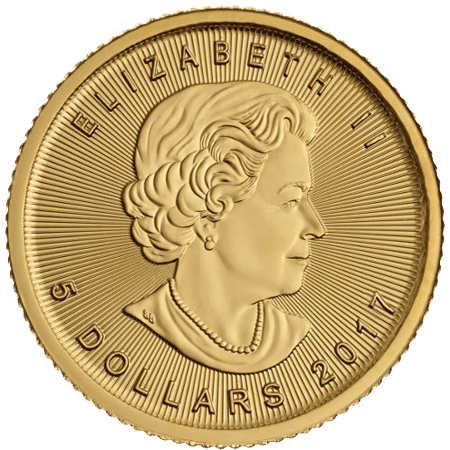 Canadian Maple Leafs Coin