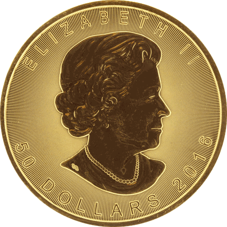 Gold Maple Coin - Obverse