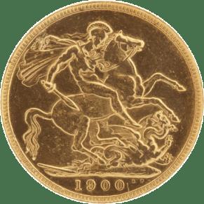 British Half Gold Sovereign coin