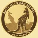 Australian Gold Kangaroo Coin