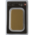 100 grams gold bar 0.999 purity - reverse site