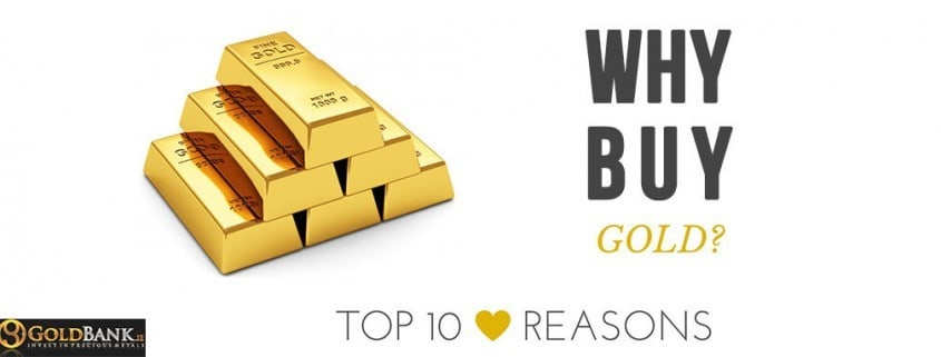 10 Reasons to buy Gold now.