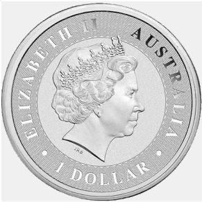 Australian Silver Kangaroo Coin